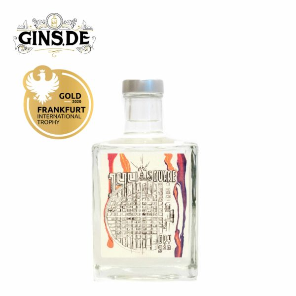 Flasche 144 Square Dry Gin
