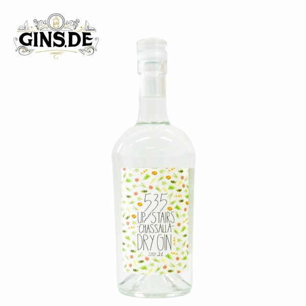 Flasche 535 Upstairs Chassalla Dry Gin
