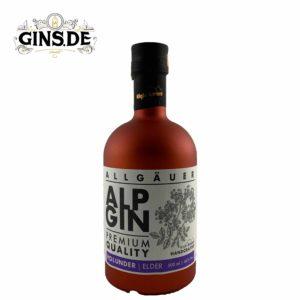 Flasche Alp Gin Holunder