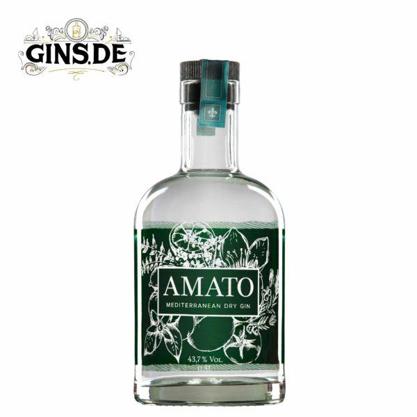 Flasche Amato Mediterranean Dry Gin