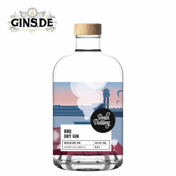 Flasche Berlin Distillery BBQ Dry Gin