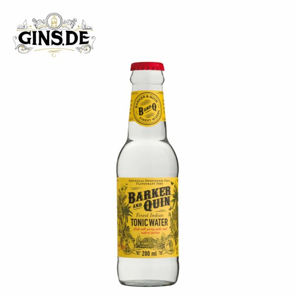 Flasche Baker and Quin Indian Tonic Water