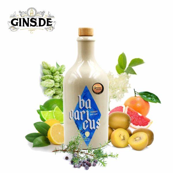 Flasche Bavaricus München Dry Gin
