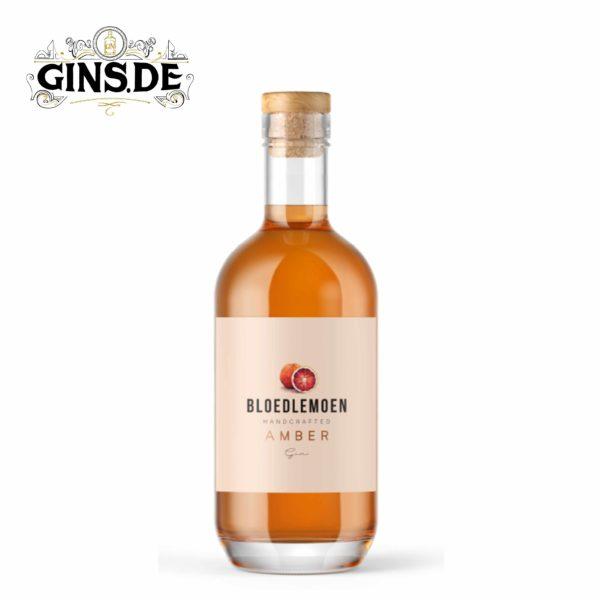 Flasche Bloedlemoen Gin Amber