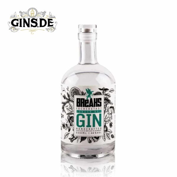 Flasche Breaks Premium London Dry Gin