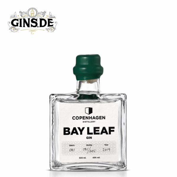 Flasche Copenhagen Distillery Bay Leaf Gin