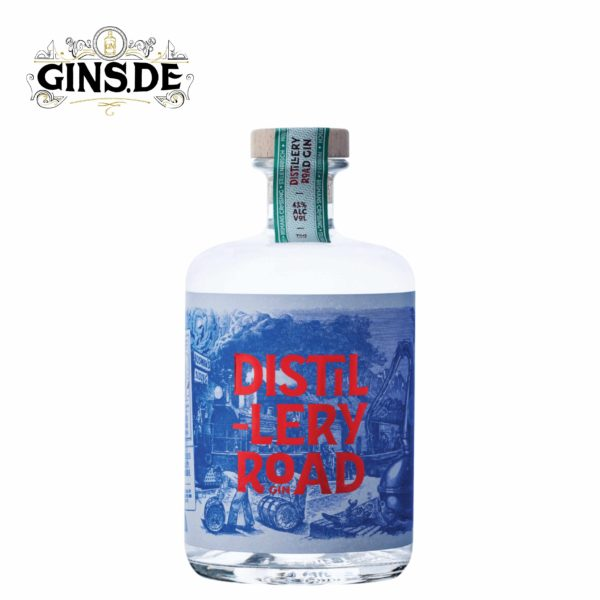 Flasche Distilleryroad Gin