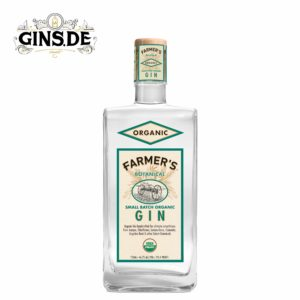 Flasche Farmers organic Gin