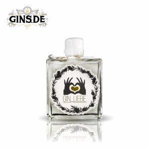 Flasche Gin Liebe