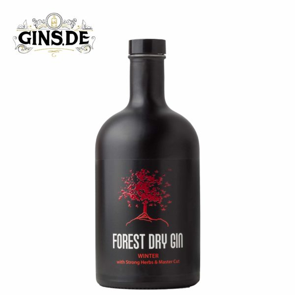 Flasche Forest Dry Gin Winter