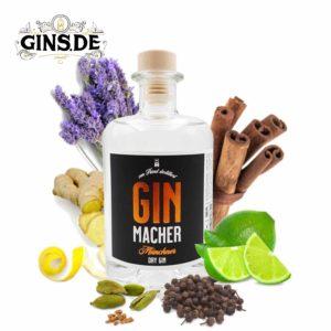 Flasche Ginmacher München Dry Gin