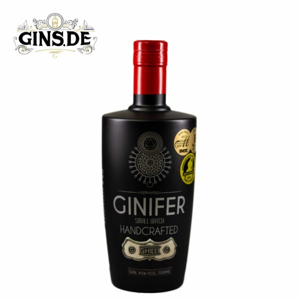 Flasche Ginfer Handcrafted Chilli