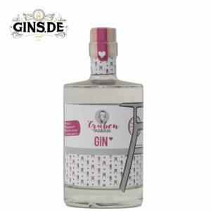 Flasche Grubenmädchen Gin Vorderseite