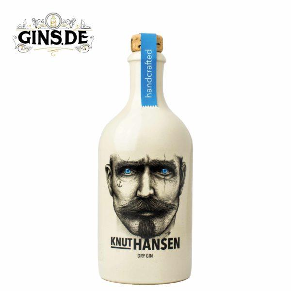 Flasche Knut Handes Dry Gin vorne
