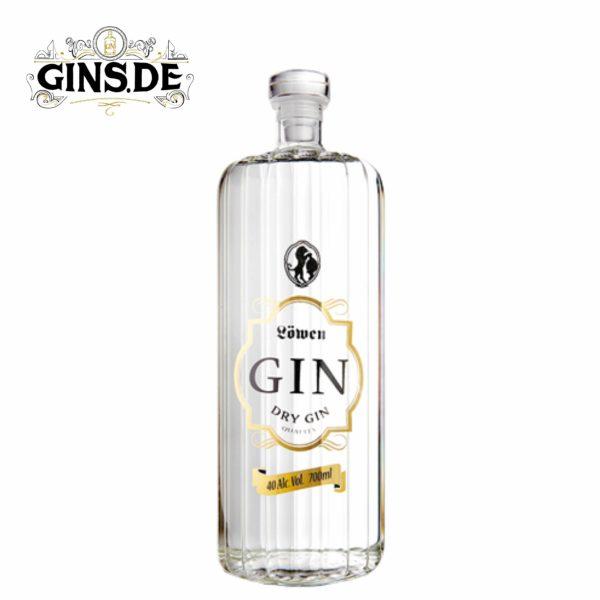 Flasche Löwen Dry Gin