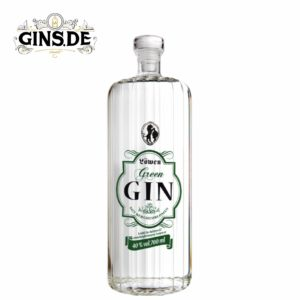 Flasche Löwen Green Gin