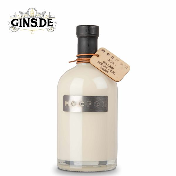 Flasche Mocfor Gin Likör