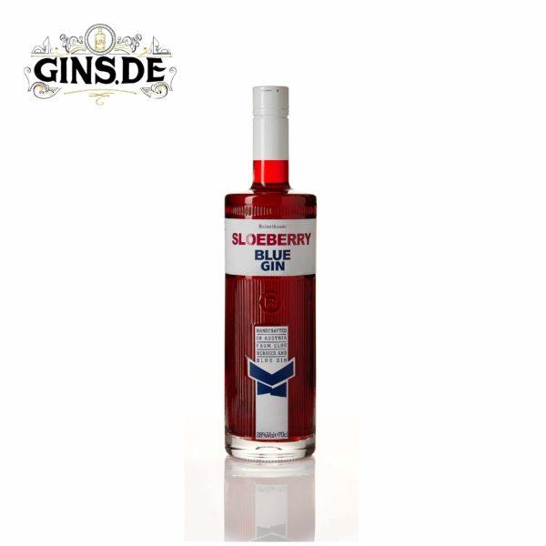 Flasche Reisetbauer Sloeberry Blue Gin