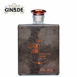 Flasche Skin Gin brown vorne