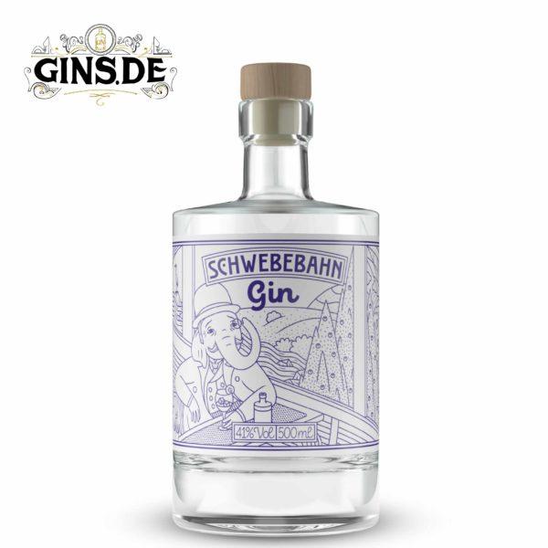 Flasche Schwebebahn Gin