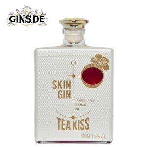 Flasche Skin Gin Tea Kiss hinten