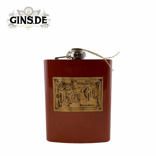 Flasche Urkorn Gin Winteredition