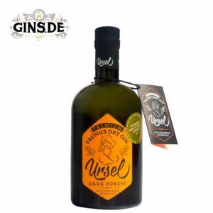 Flasche Ursel Dark Forest Dry Gin