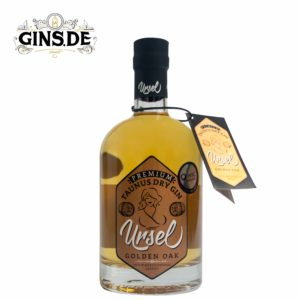 Flasche Ursel Golden Oak Dry Gin