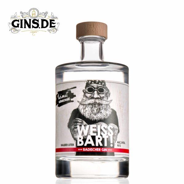 Flasche Weissbart Gin