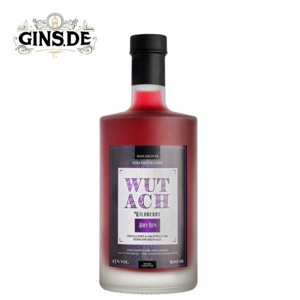 Flasche Wutach London Dry Gin