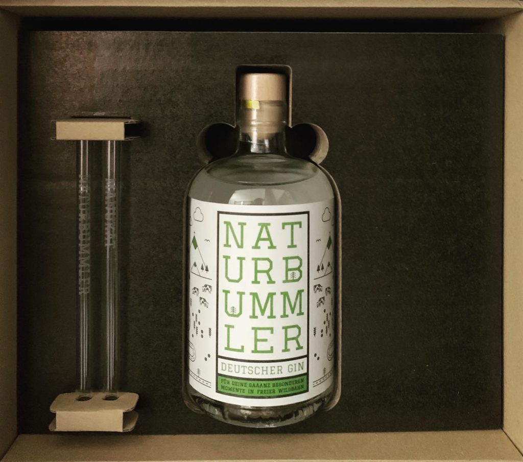 Flasche Manukat Naturbummler