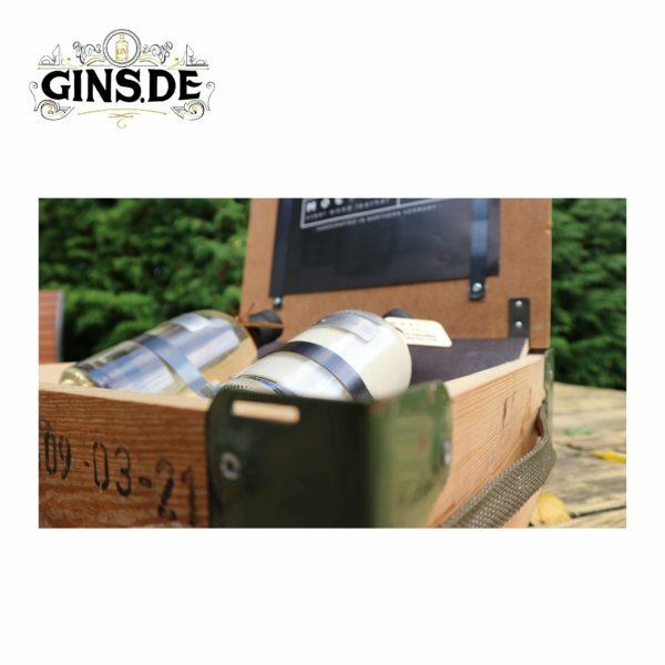 Bundle Mocfor Gin und Gin Sahnelikör Kiste offen