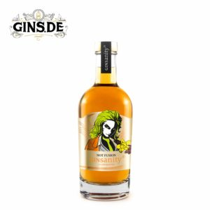 Flasche Ginsanity Hot Fusion Gin