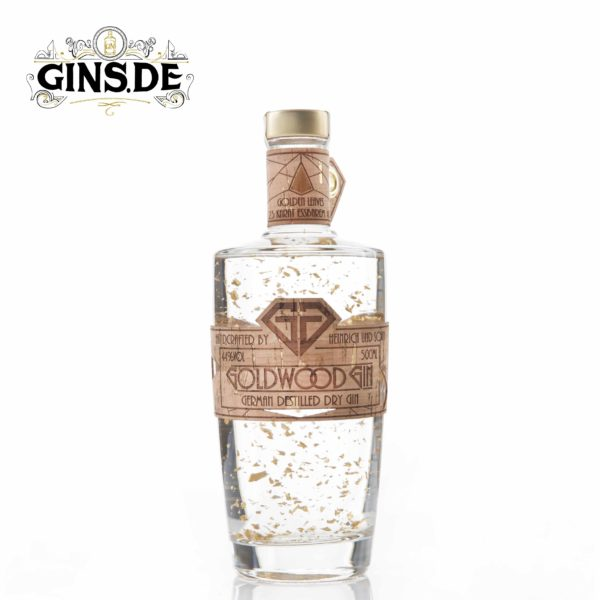 Flasche Goldwood Dry GIn