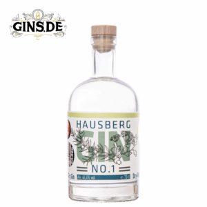 Flasche Hausberg Dry Gin No 1