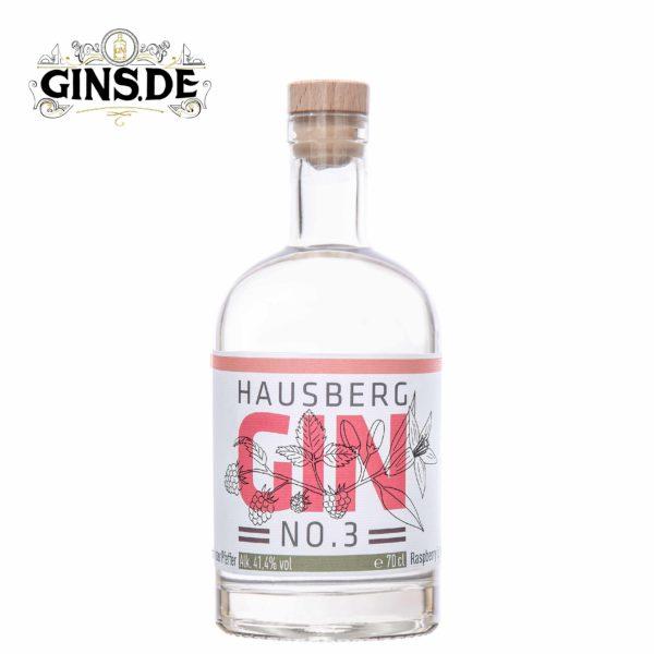 Flasche Hausberg Gin No 3 Himbeere & Pfeffer
