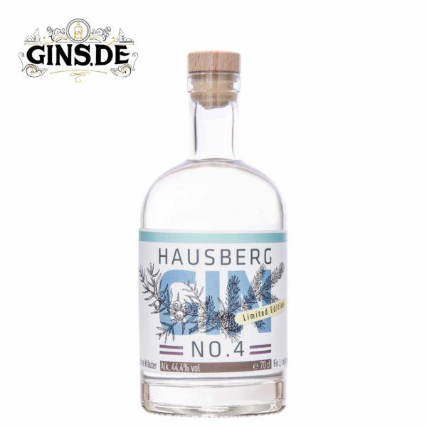 Flasche Hausberg Dry Gin No 4