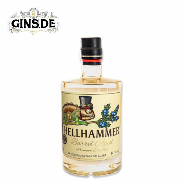 Flasche Hellhammer Premium Dry Gin Barrel Aged