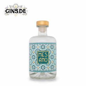 Flasche Mesano Dry Gin