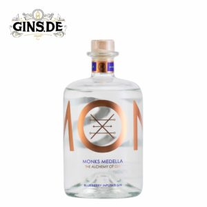 Flasche Monks Medella Bluberry Infused Gin