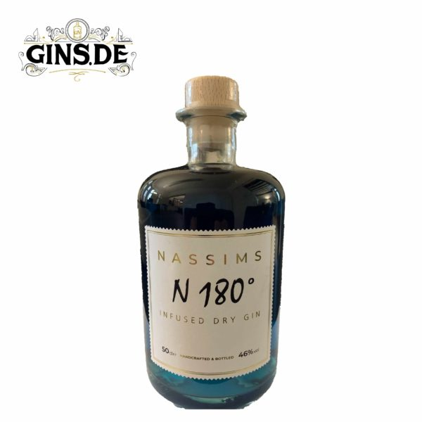 Flasche Nassim N 180 Infused Dry Gin