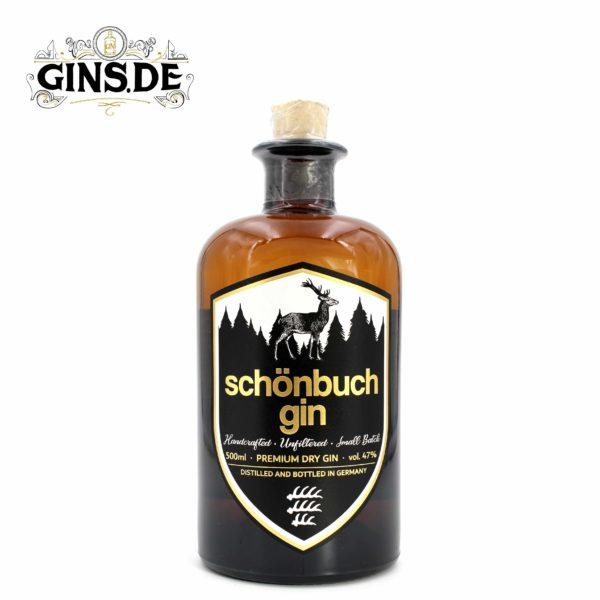 Flasche Schönbuch Dry Gin