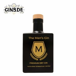 Flasche The Mans Premium Dry Gin Frontansicht