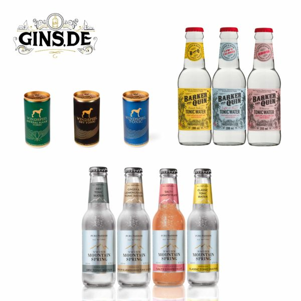Flaschen Tonic Set