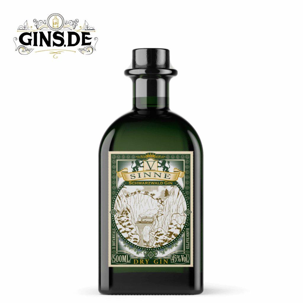 Flasche V Sinne Schwarzwald Dry Gin
