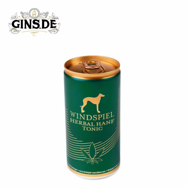Dose Windspiel Herbal Hanf Tonic Water