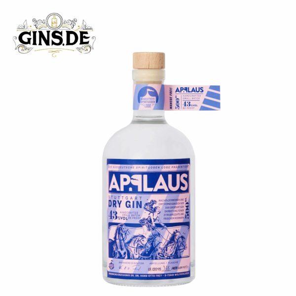 Flasche Applaus Dry Gin