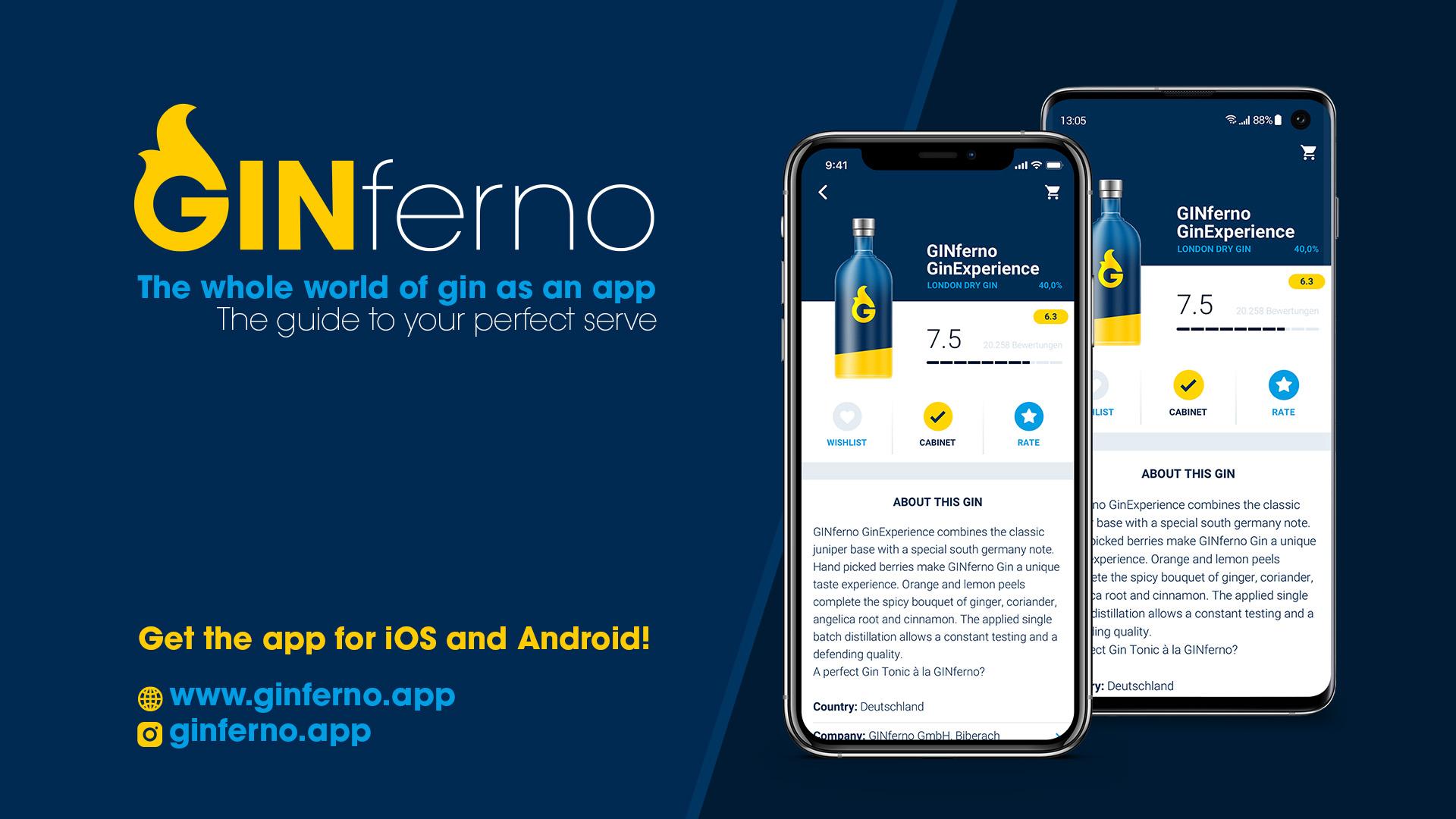 Logo GINferno Gin App