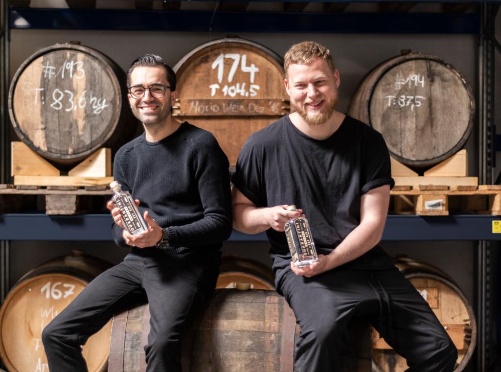 Bild Boris und Felix Quarantini Social Dry Gin