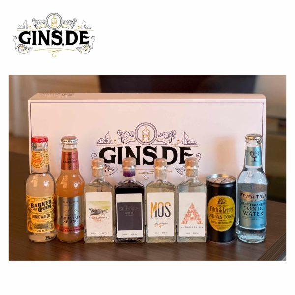 Gin Entdecker Box mit Inhalt